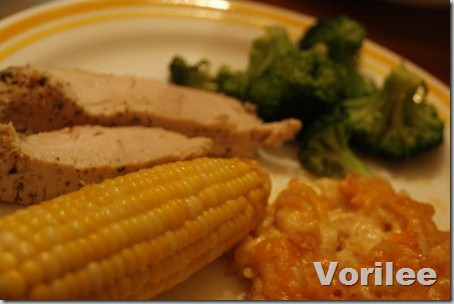 turkey-corn-dinner